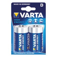 "Battery Varta ""High Energy"" Mono LR 20 / D, 2 pcs."
